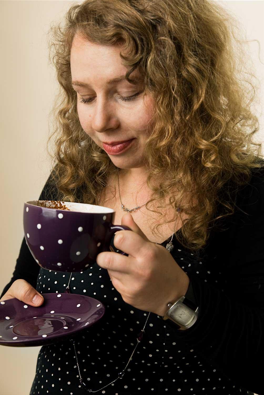 Kerstin Klambauer ist Psychologin und Psychotherapeutin im Therapiecafé Wien 15